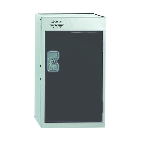One Compartment Quarto Locker D450mm Dark Grey Door MC00081