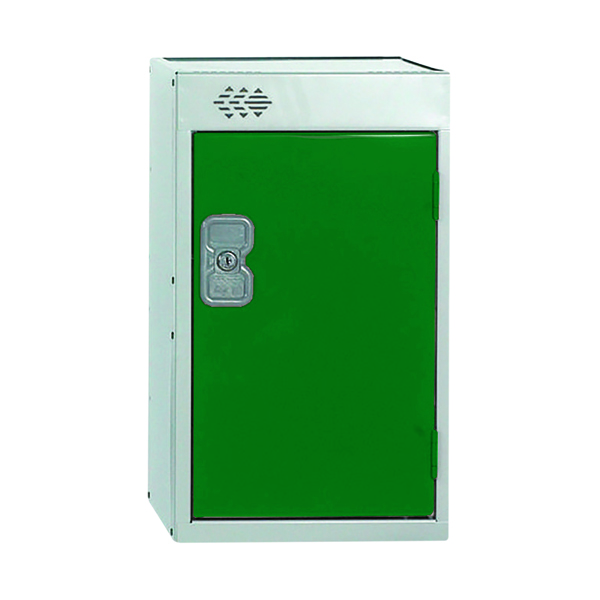 One Compartment Quarto Locker D450mm Green Door