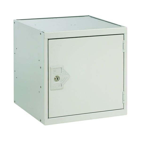 Image for One Compartment Cube Locker D300mm Light Grey Door MC00086