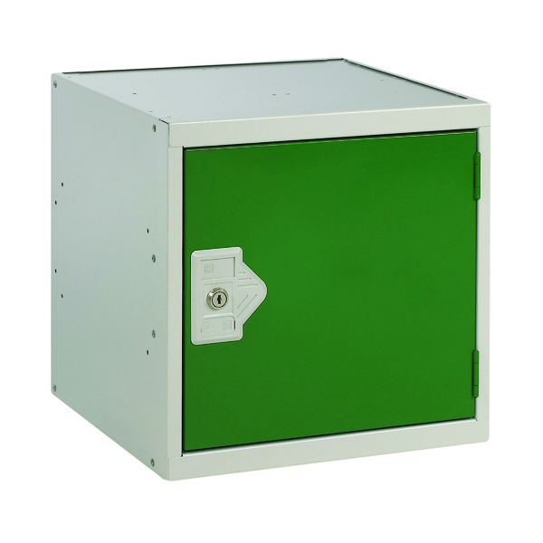 Image for One Compartment Cube Locker D300mm Green Door MC00088