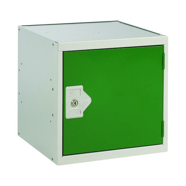 Image for One Compartment Cube Locker D380mm Green Door MC00094