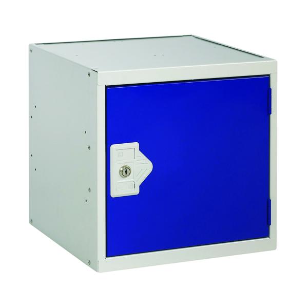 One Compartment Cube Locker D450mm Blue Door