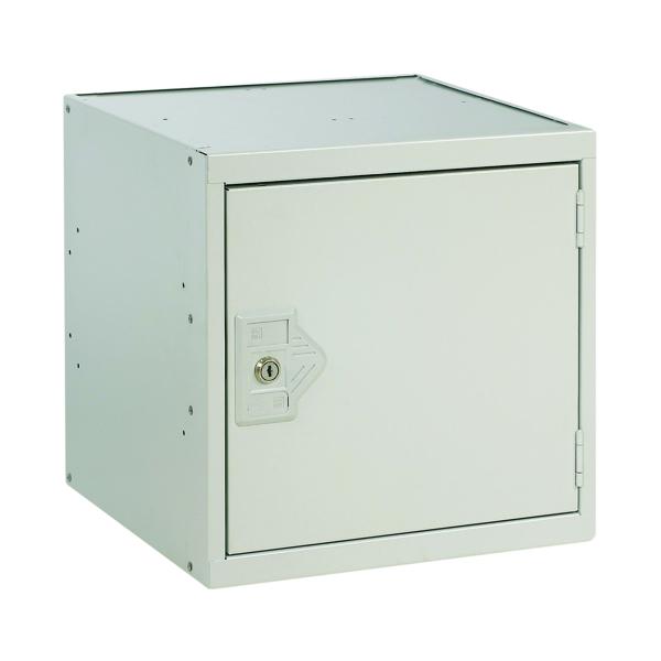 Image for One Compartment Cube Locker D450mm Light Grey Door MC00098