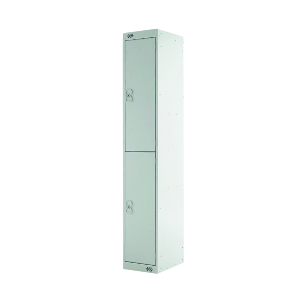 Express Standard Locker 2 Door W300xD300xH1800mm Light Grey