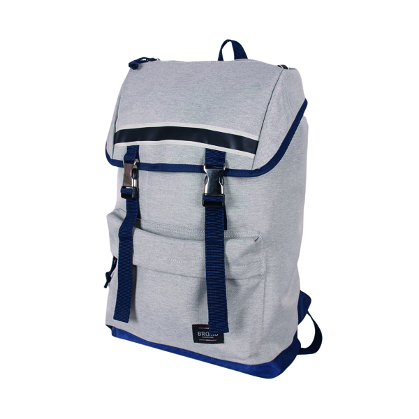 Image for Bromo Alpa Outdoor Backpack Blue and Grey BRO003-06