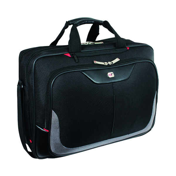 Gino Ferrari Enza Laptop Business Bag Black (Suitable for laptops upto 16 inches) GF543