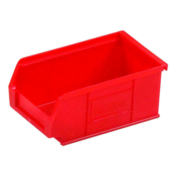 Barton Tc2 Small Parts Container Semi-Open Front Red 1.27L 165X100X75mm (Pack of 20) 010022