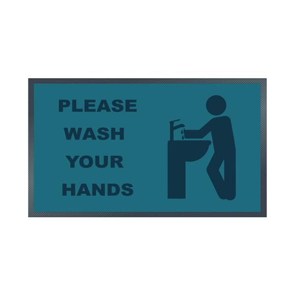 Please Wash Your Hands Sink Mat 85 x 150cm 19258647
