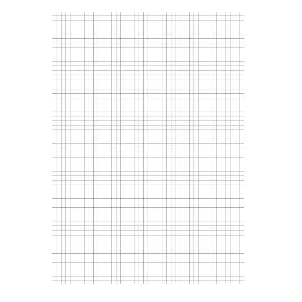 Loose Leaf Paper A4 Quad Ruled (Pack of 2500) 100102082