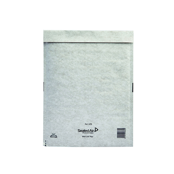 Mail Lite Plus Bubble Lined Postal Bag (Size H/5 270x360mm Oyster White Pack of 50) 103025660