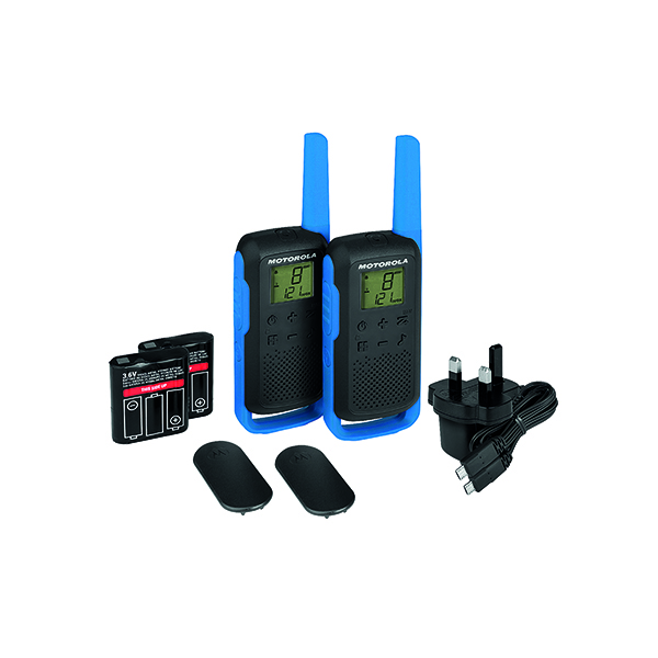 Image for Motorola T62 Twin Pack BP00810LDRMAW