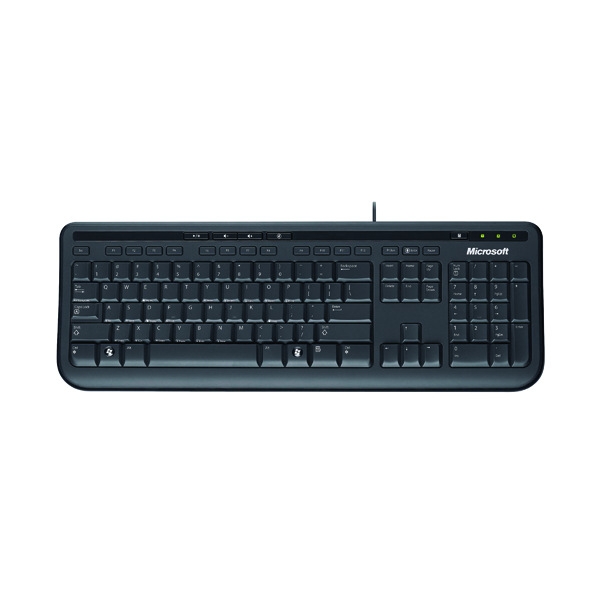 Microsoft Wired Keyboard 600 Black Anb-00006