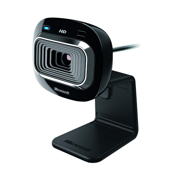 Microsoft Lifecam HD-3000 Webcam 1280x720 Pixels USB2.0 Blk T4H-00004