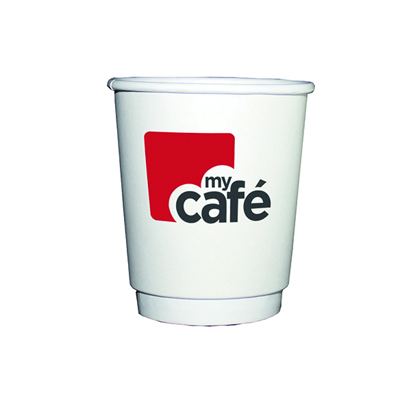 Mycafe 8oz Double Wall Hot Cups (Pack of 500) HVDWPA08V