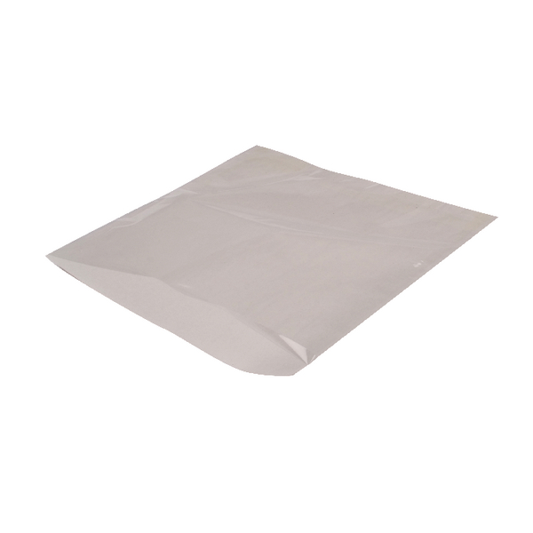 MyCafe Sulphite Film Front Bag 250x250mm White (Pack of 1000) 303306B