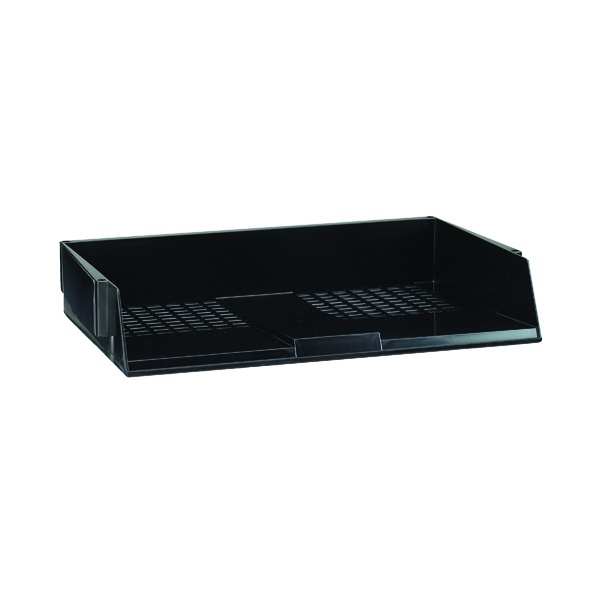 Avery Original A4 Wide Entry Letter Tray Black W44BLK