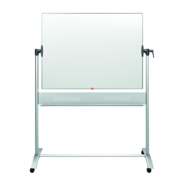 Nobo Classic Enamel Mobile Whiteboard 1200x900mm 1901033