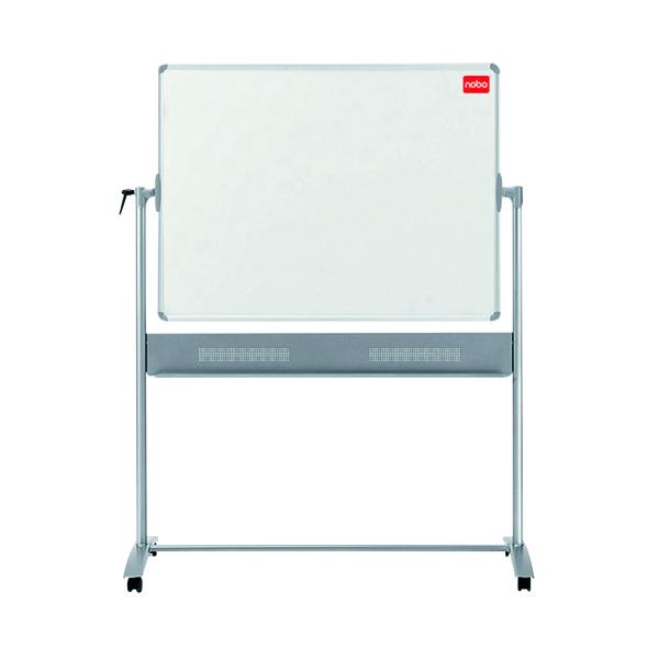 Nobo Combination Felt/Steel Mobile Board 1200 x 900mm Grey/White 1901043