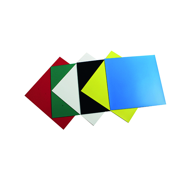 Nobo Magnetic Squares Assorted Colours Pack of 6 1901104
