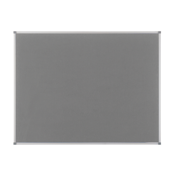 Nobo Classic Grey Felt Noticeboard 1800x1200mm 1900913