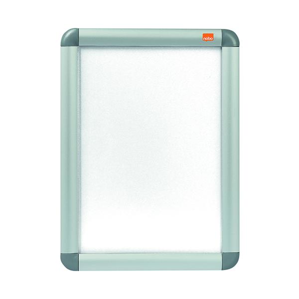 Nobo Aluminium Clip Frame A4 Silver 1902214