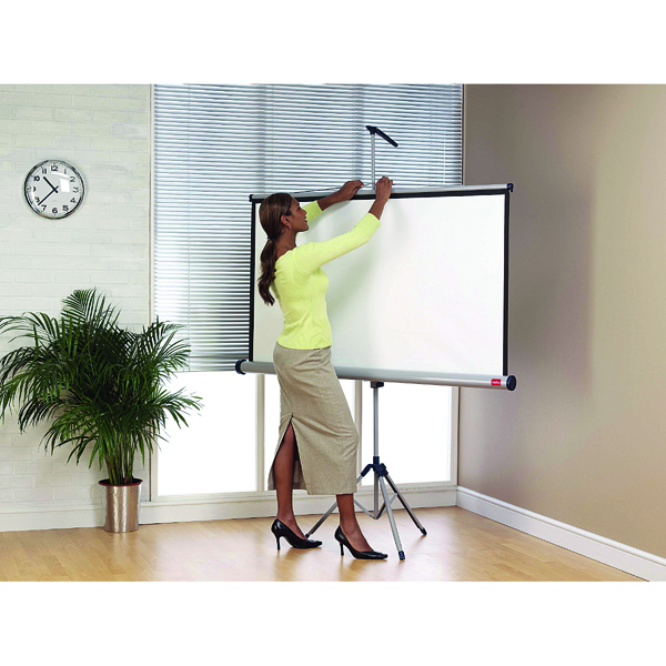 Image for Nobo 4:3 Tripod Projection Screen 1750x1325mm 1902396