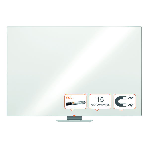 Nobo Classic Magnetic Steel Whiteboard 1800x1200mm 1902648