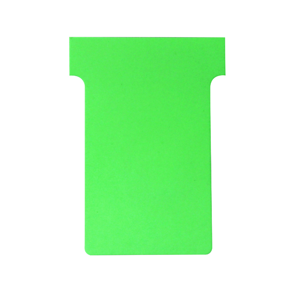 Nobo T-Card Size 2 48 x 85mm Light Green (Pack of 100) 32938902