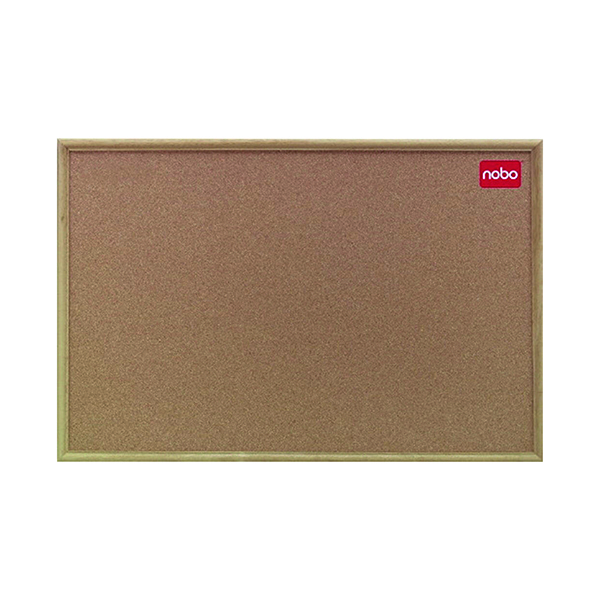Nobo Classic Cork Noticeboard 900x600mm 37639003