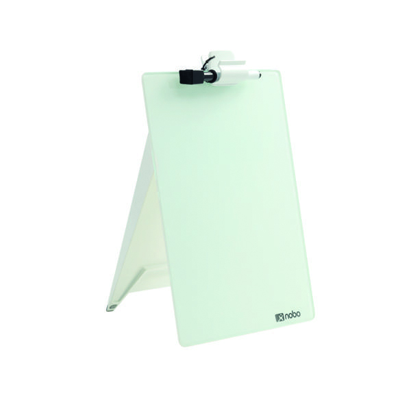 Nobo Diamond Glass Desk Top Easel 1905173