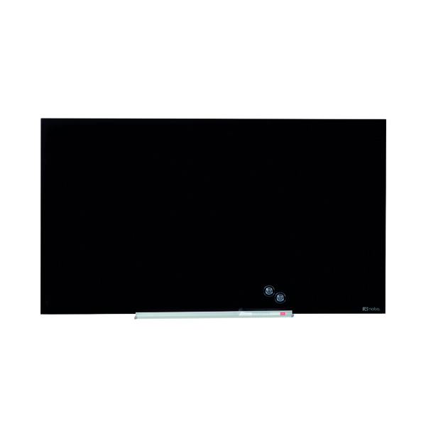 Nobo Widescreen Glass Whiteboard 57 inch Black 1905181