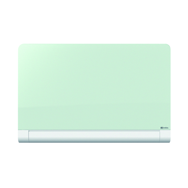 Nobo Widescreen Rounded Glass Whiteboard 45 inch White 1905191