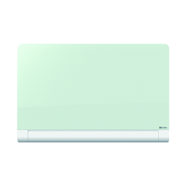Nobo Widescreen Rounded Glass Whiteboard 85 inch White 1905193