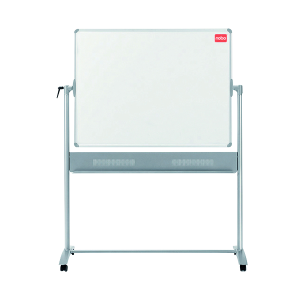 Nobo Basic Melamine Mobile Whiteboard 1200x900mm 1905239