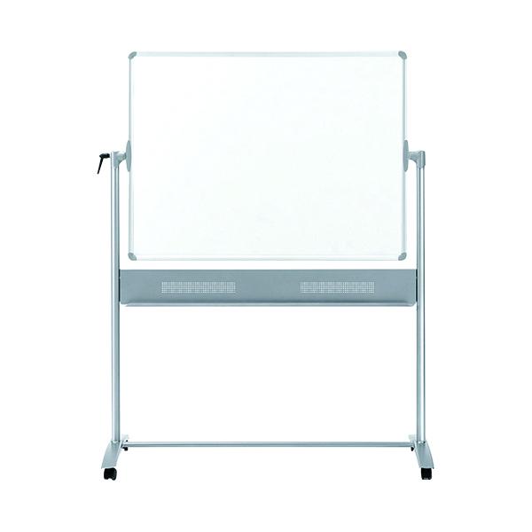 Nobo Basic Melamine Mobile Whiteboard 1500x1200mm 1905240