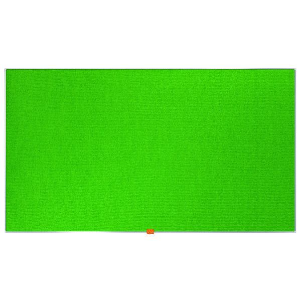 Nobo Widescreen 55inch Green Felt Noticeboard 1220x690mm 1905316