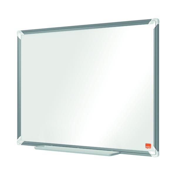 Nobo Premium Plus Melamine Whiteboard 600 x 450mm 1915166