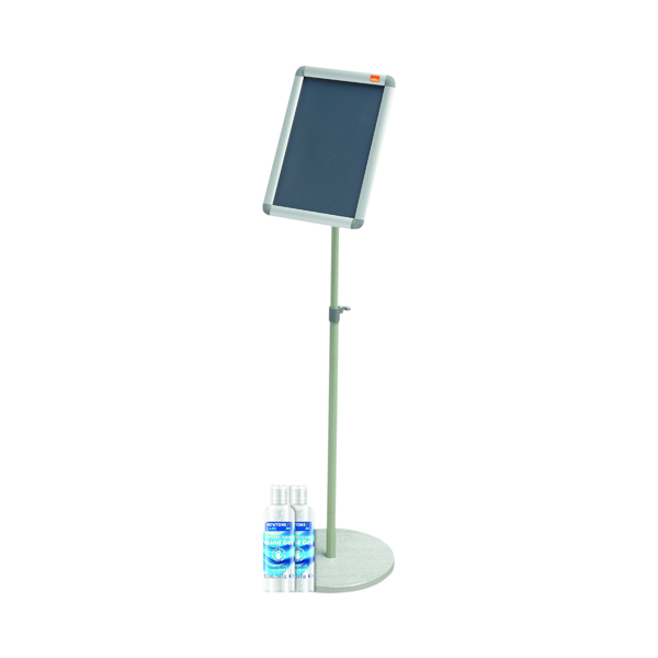 Nobo Snap Frame Display Stand A4 FOC 2 Hand Gel 100ml