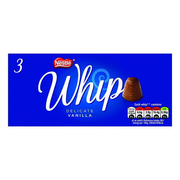 Nestle Whip Vanilla 27.8g (Pack of 3) 12339770