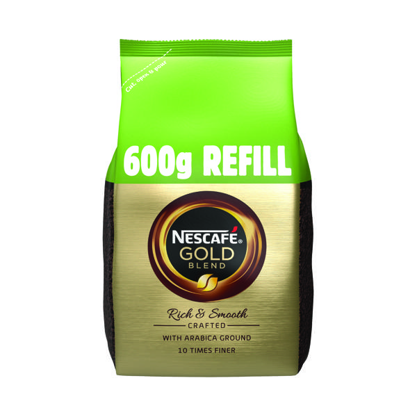 Nescafe Gold Blend 600g Refill (Makes approx 333 cups) 12226527