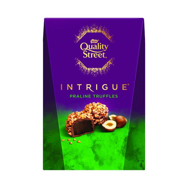Nestle Quality Street Intrigue Praline Truffles Box 200g 12428216