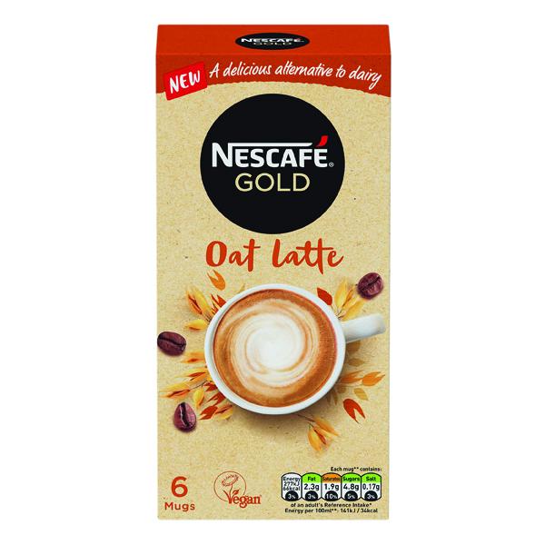 Nescafe Gold Oat Latte 16g (Pack of 30) 12429920