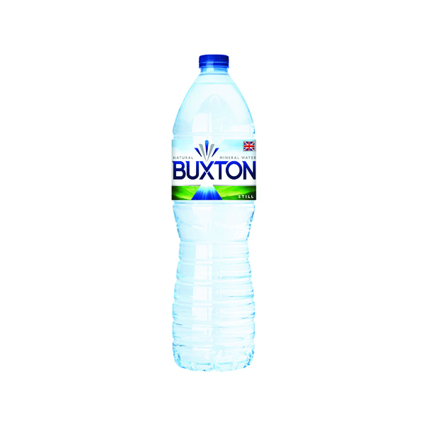 Image for Buxton Still Mineral Water 1.5 Litre Plastic Bottles (Pack of 6) 12020136