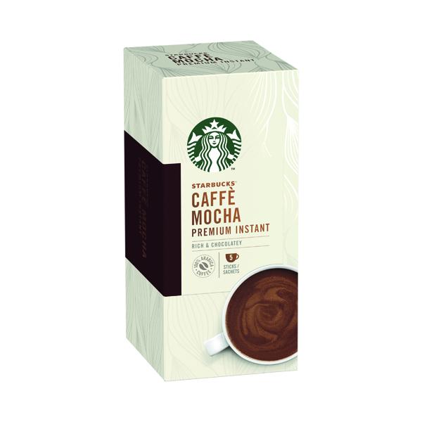 Starbucks Caffe Mocha Instant 110g 5 Sachets (Pack of 6) 12431758
