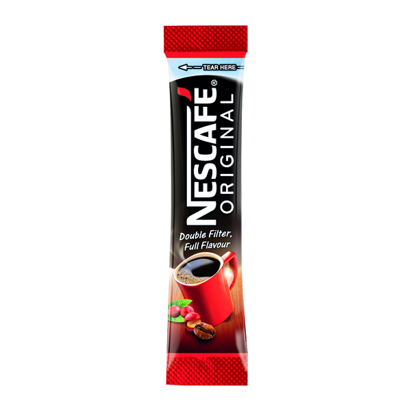 Nescafe One Cup Sticks Coffee Sachets (Pack of 200) 12315596