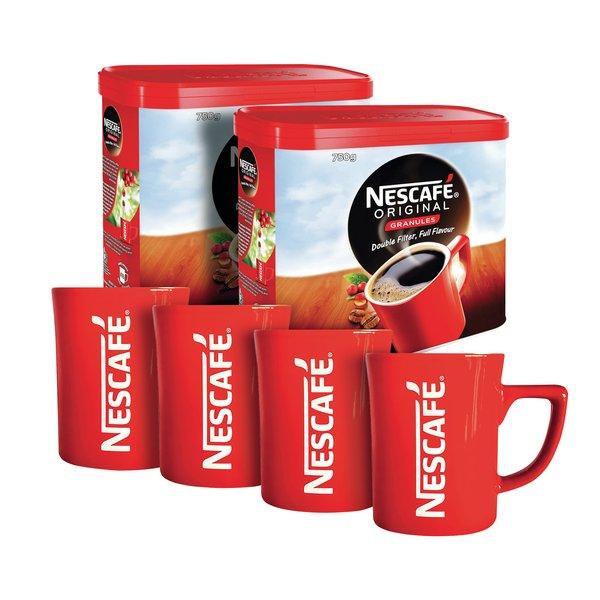 Nescafe Original 750g Buy 2 Get 4 Free Mugs