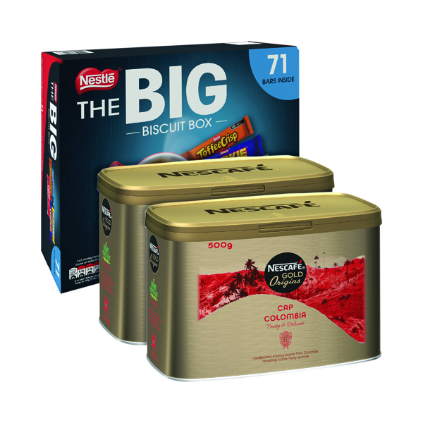 Cap Colombie 500g Buy 2 Get FOC Big Biscuit Box