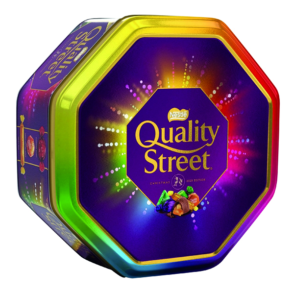 Nestle Quality Street Tin 1kg 12394801