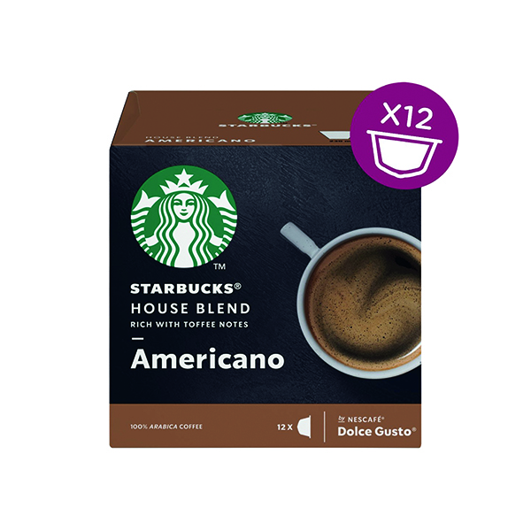 Nescafe Dolce Gusto Starbucks House Americano (Pack of 36) 12397697