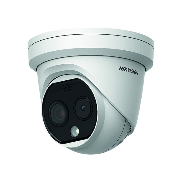 Image for Hikvision 3.1mm Thermal/Optical Dual Spectrum Turret DS-2TD1217B-3/PA
